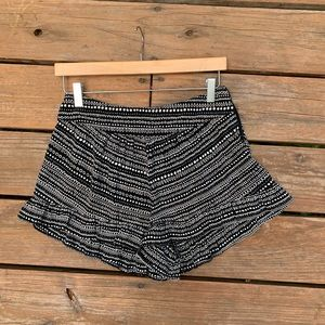 Ruffle Shorts from a boutique in Santa Barbara